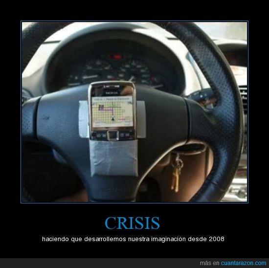 crisis,gps,imaginación,movil
