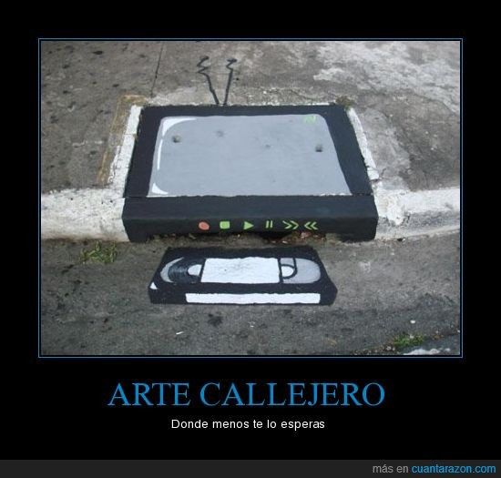 Arte,Callejero,vhs,video