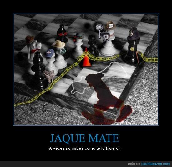 ajedrez,asesinato,jaque,mate