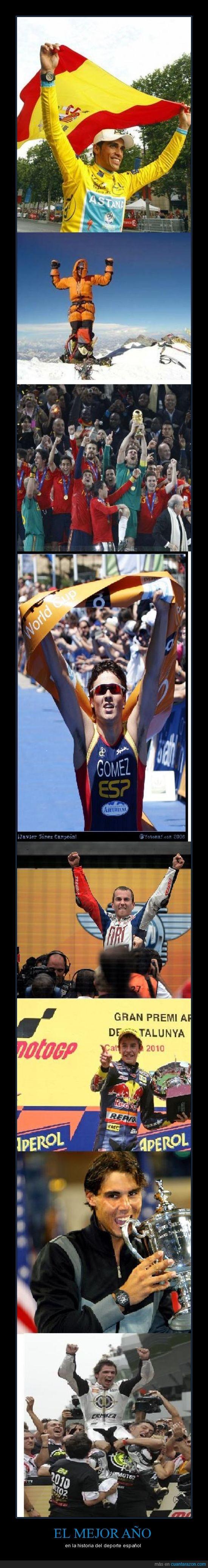 deporte,el mejor año,español