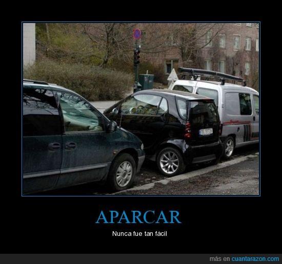 aparcar,coche,smart