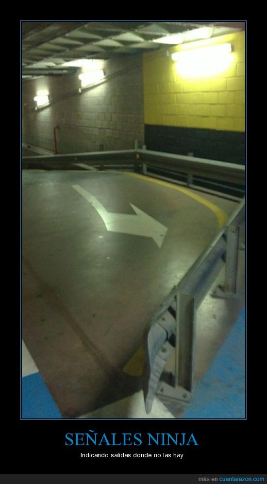 ninja,parking,señales