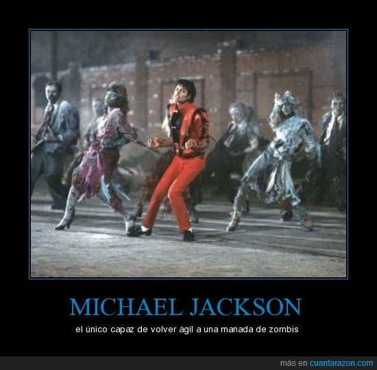 michael jackson,zombi