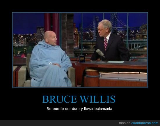 batamanta,Bruce Willis