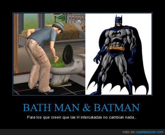 bath man,batman,lol