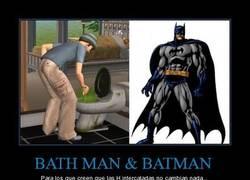 Enlace a BATH MAN & BATMAN