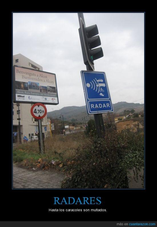 multa,radar,velocidad