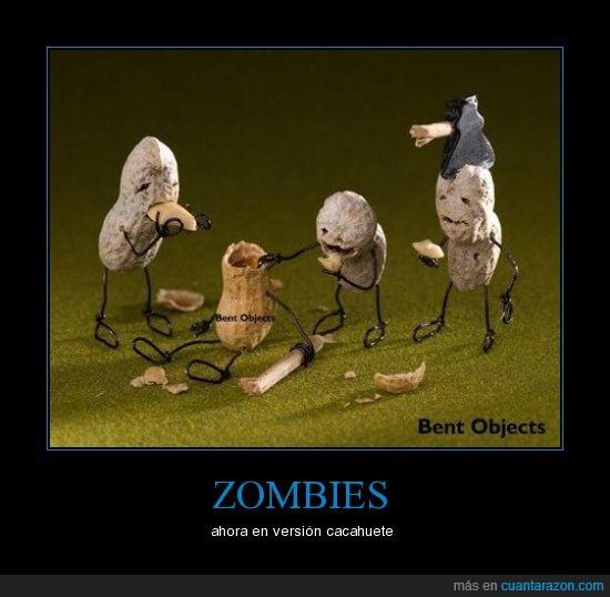 cacahuete,zombie