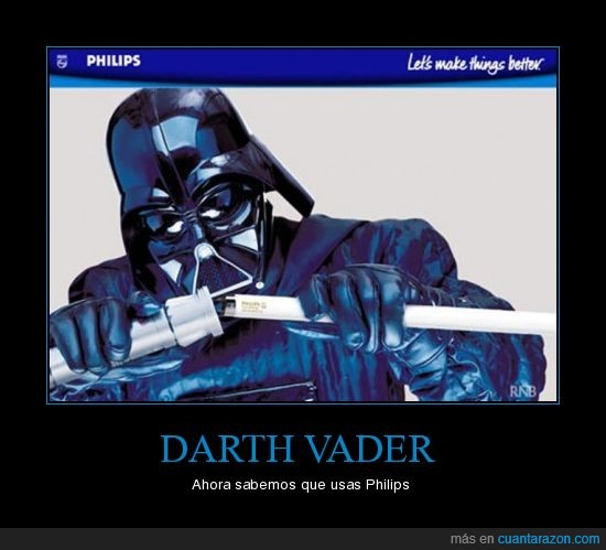 darth,film,lucas,luces,movies,peliculas,philips,star,vader,wars