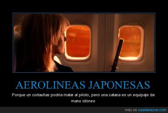avión,catana,japoneses