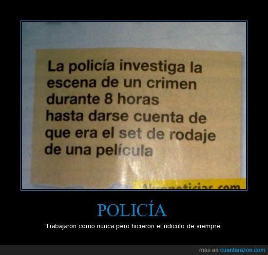 Crimen,Pelicula,Policia,Ridiculo