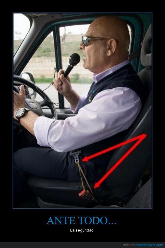 cinturon de seguridad,conducir