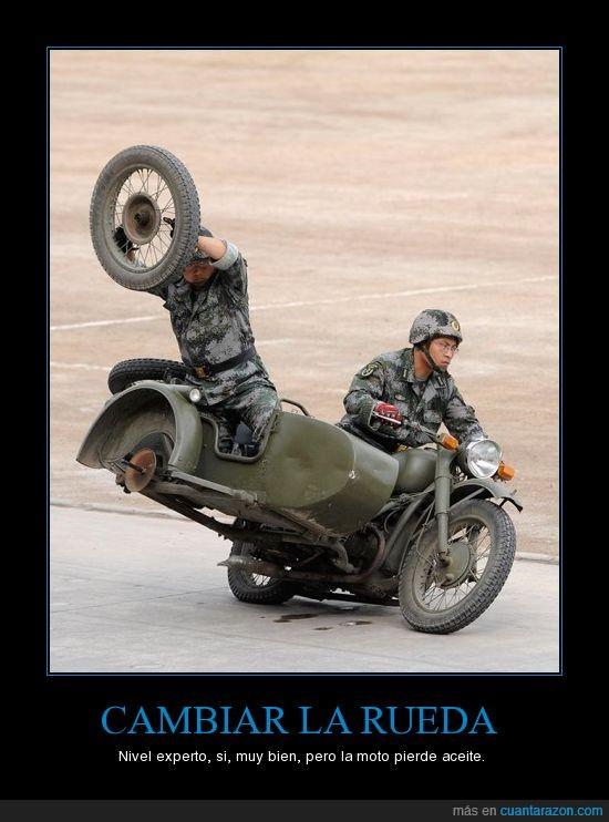 aceite,cambiar,rueda