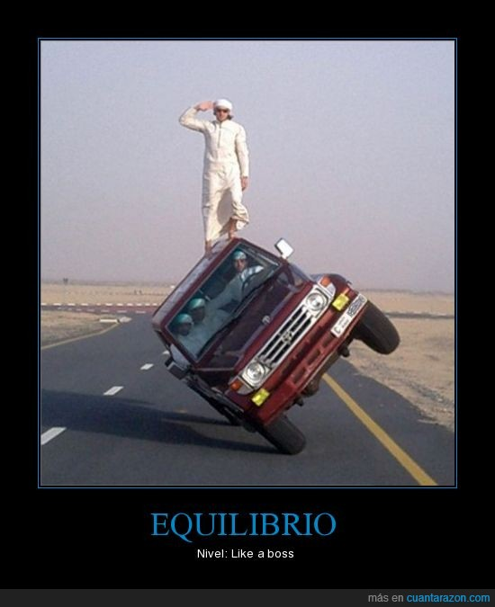 equilibrio,like a boss,win