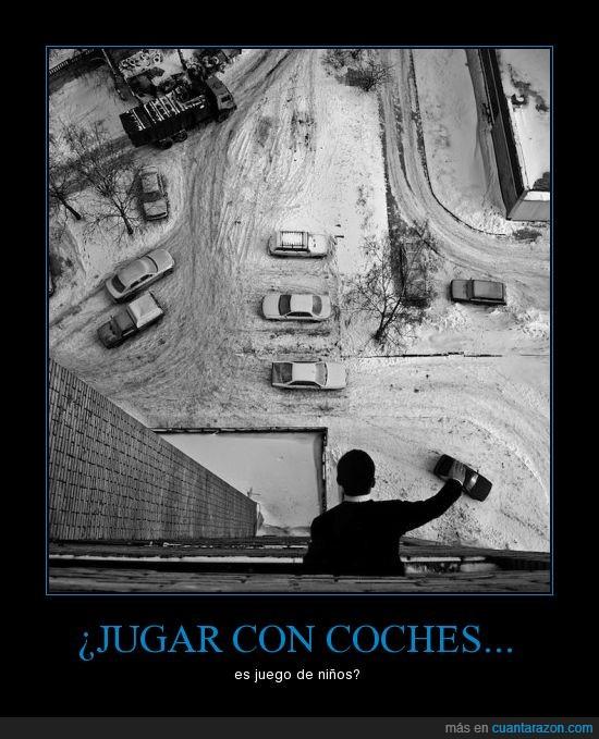 Coches,Jugar,Niños,Parking