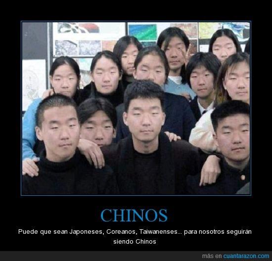 Chinos,Coreanos,Japoneses,Taiwanenses