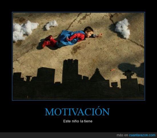 efecto,motivación,superman