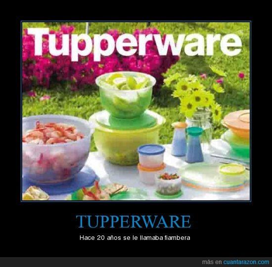 fiambrera,tupperware