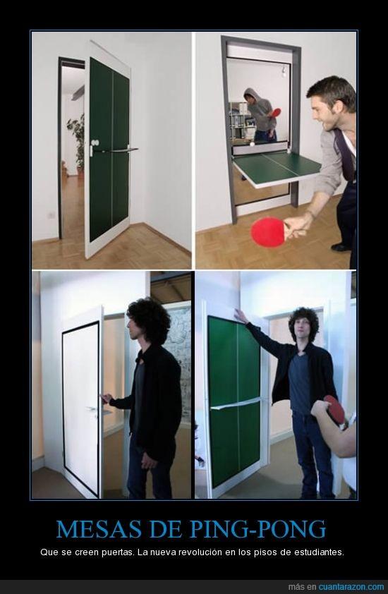 estudiantes,mesa,ping-pong