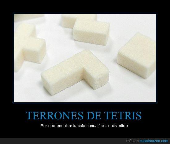 azucar,terrones,tetris