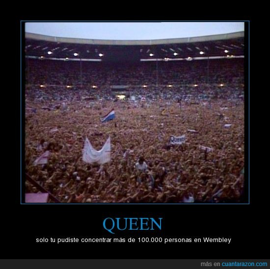 público,queen,wembley