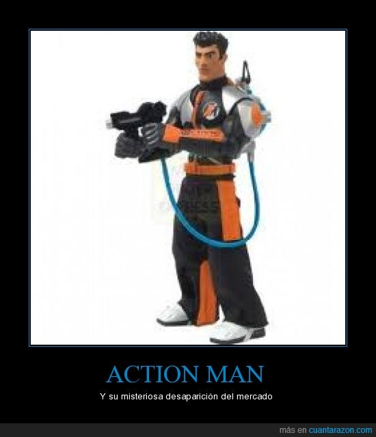 action man,desaparición,misterio