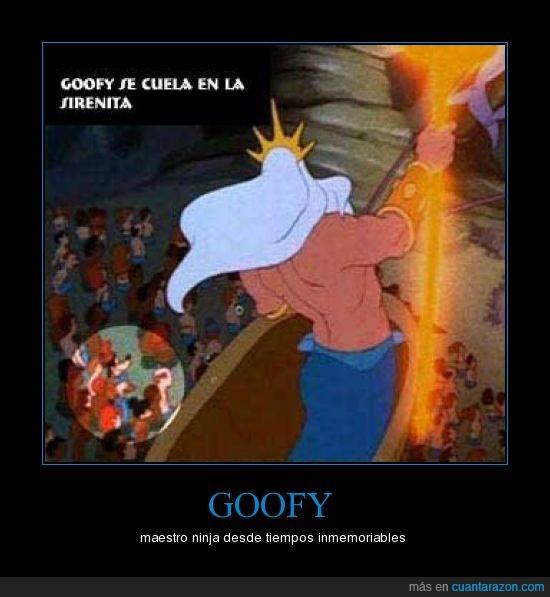 disney,goofy,sirenita