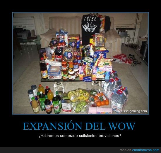 expansión,provisiones,world of warcraft,wow