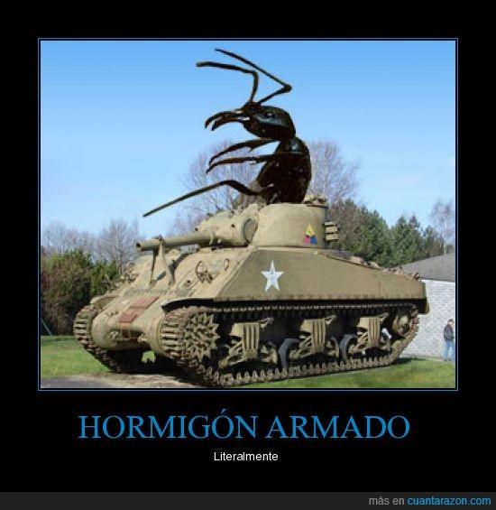 hormiga,tanque
