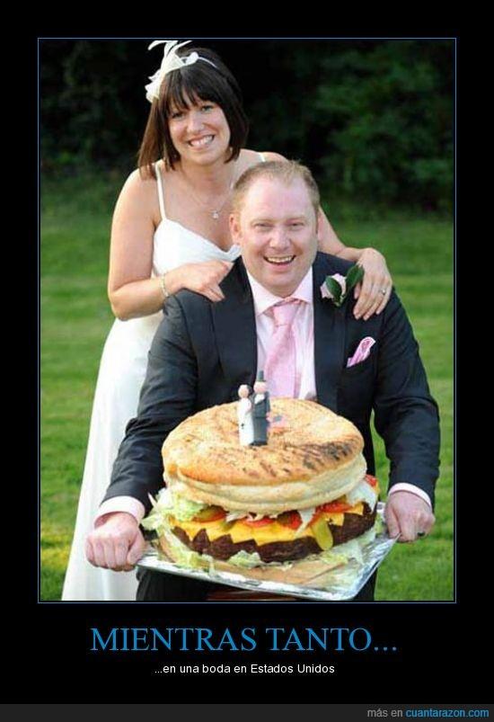 chorrada,cuarto de libra,hamburguesa,pastel de bodas,xD