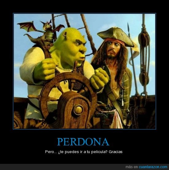 johnny deep,pelicula,piratas del caribe,shrek