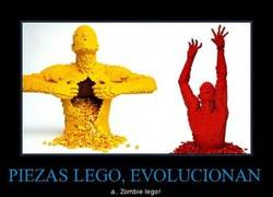 Enlace a PIEZAS LEGO, EVOLUCIONAN