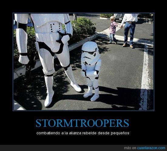 de tal palo,star war,stormtroopers