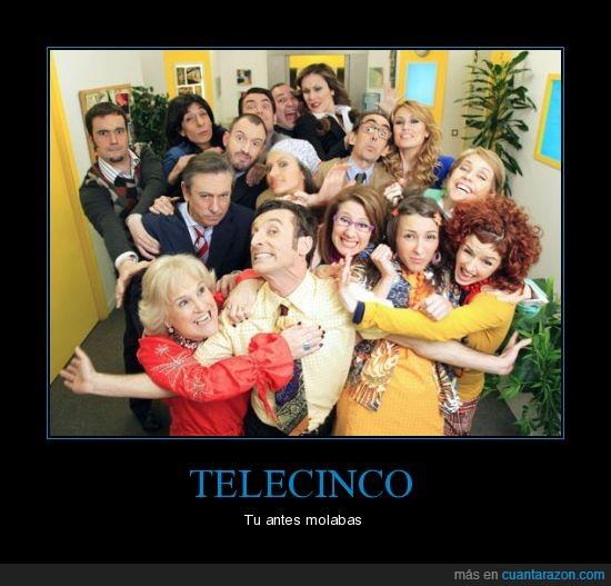 antena 3,camara cafe,molar,telecinco,television