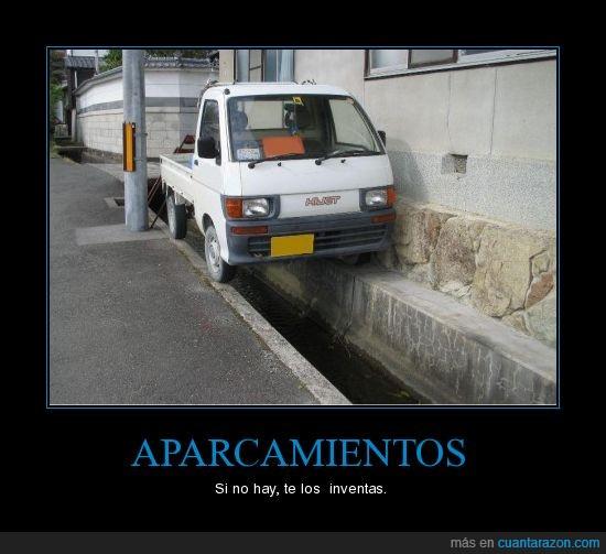 aparcar,canal,imposible