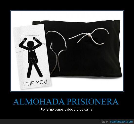 almohada,prisionera