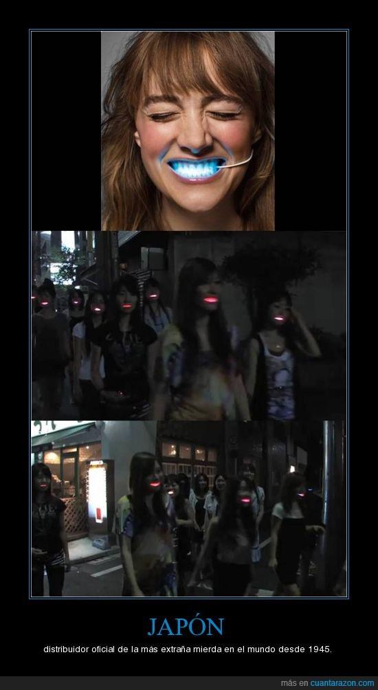 Japon,LED,Sonrisa