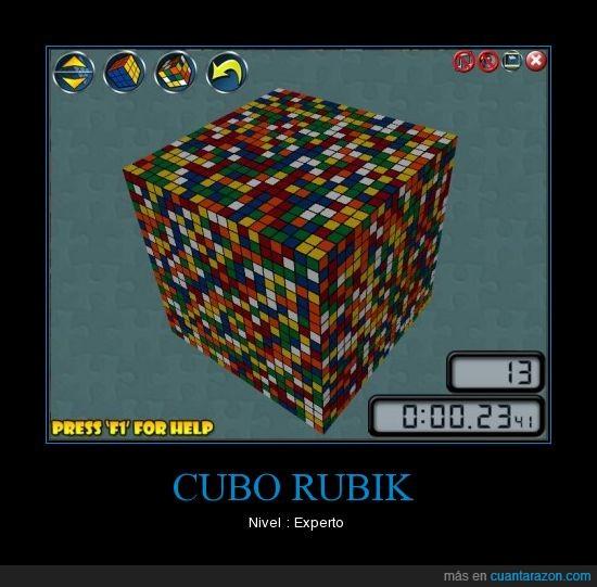 cubo,nivel experto,rubik