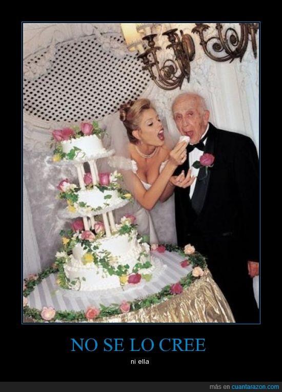 abuelo,boda,dinero,edad,joven,lista