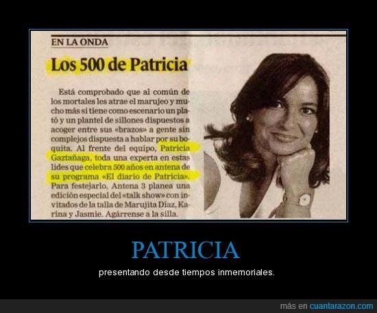 500 años,diario,patricia