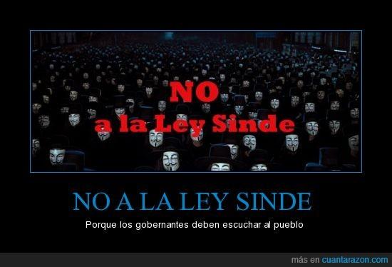 ley,NO,sinde