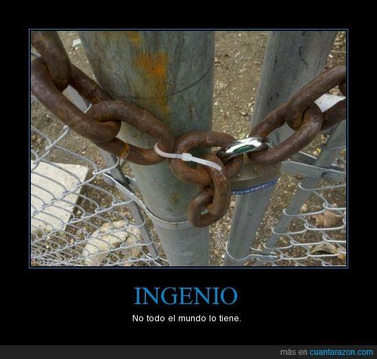 cadenas,ingenioso