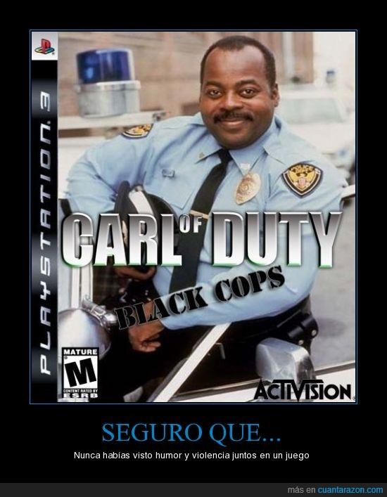 activision,call of duty black ops,carl of duty black cops,humor,violencia