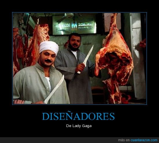 carne,Diseñadores,Gaga,Lady,Ropa