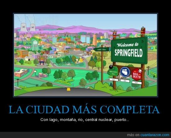 ciudad,completa,simpsons,springfield