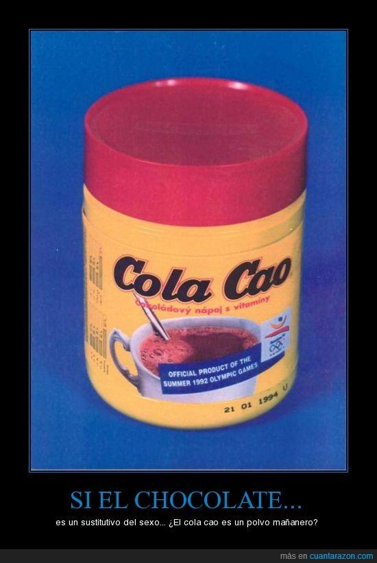 chocolate,cola cao