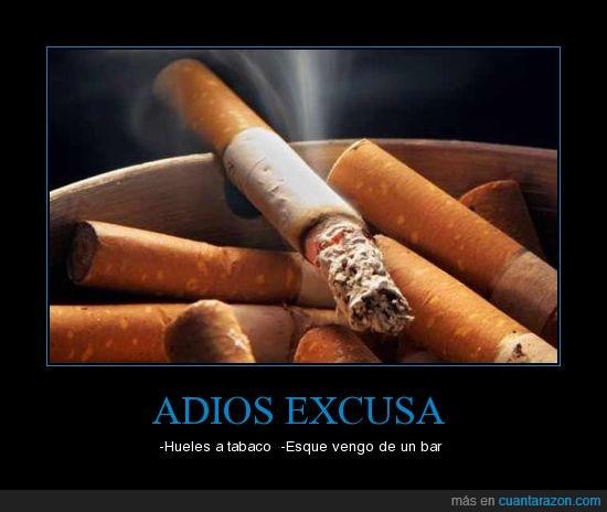 cigarro,excusa,prohibido,tabaco