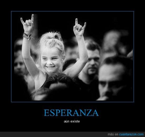 esperanza,niña,rock