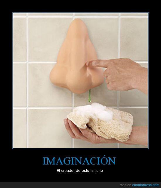 imaginacion,moco,nariz