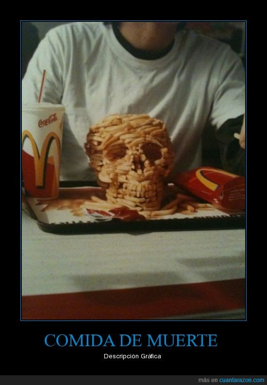 comida,gráfica,muerte